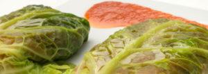 Hojas de Repollo Rellenas de Carne